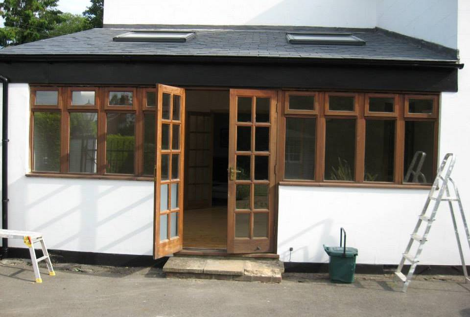 Painting and Decorating exterior house