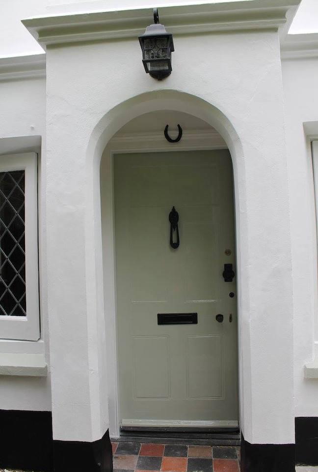 refurbished exterior house door