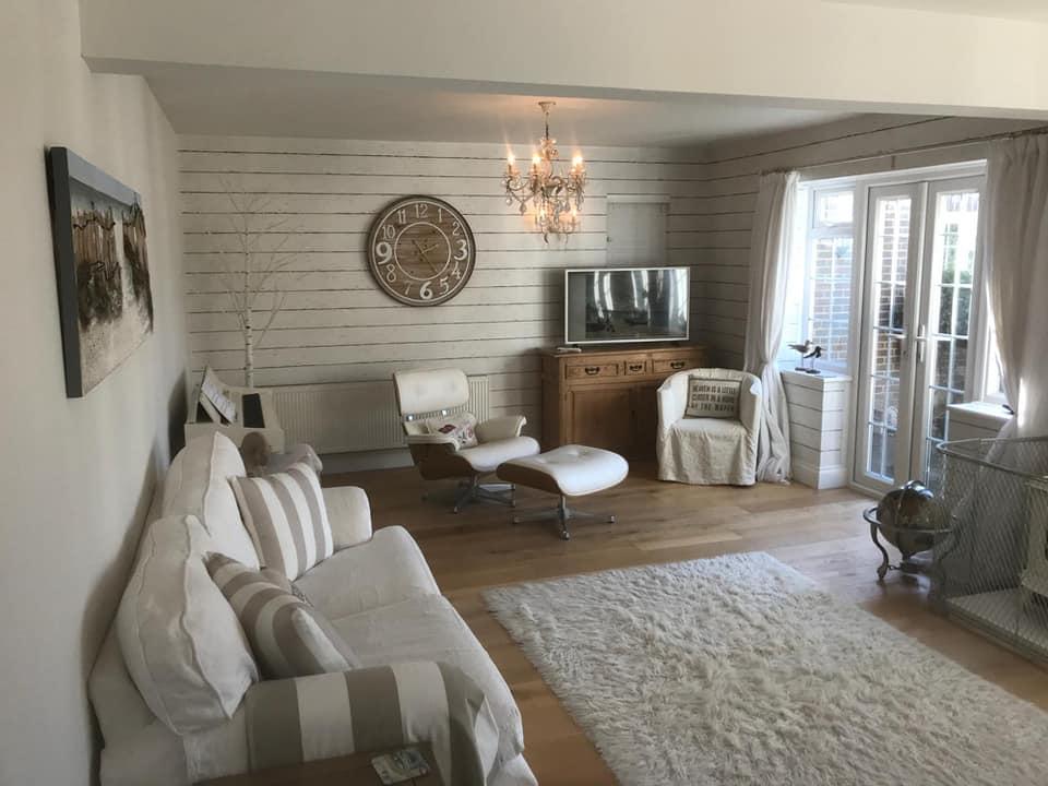 refurbishment living room residential house