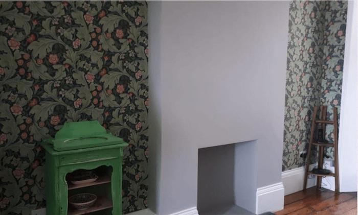living room wall decorating murel
