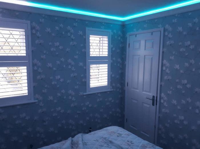 bedroom wallpaper design murel