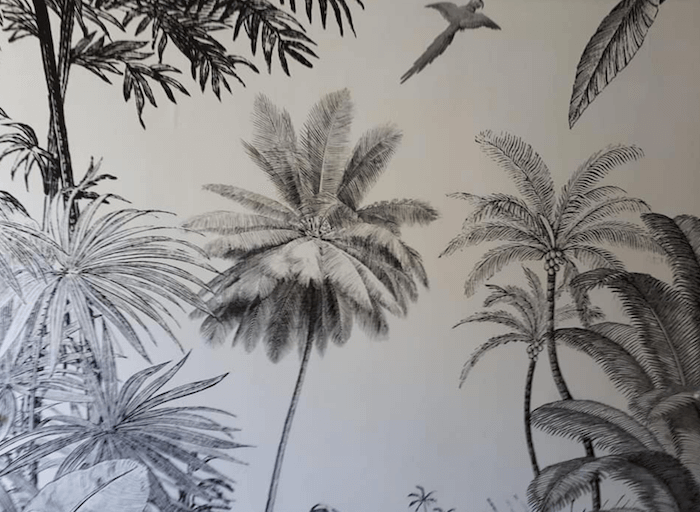 wallpaper murel interior residential home